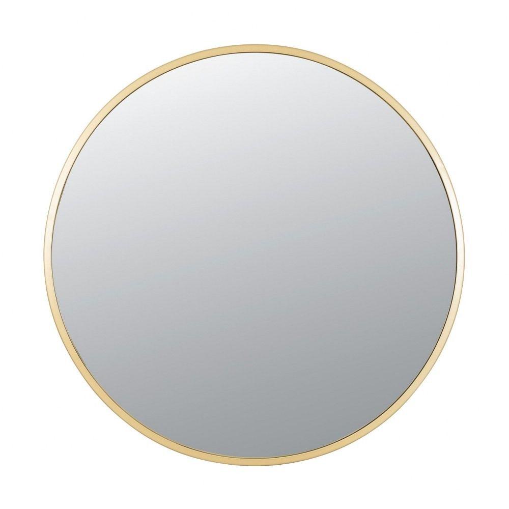 Cottage 30 Inch Round Mirror Gold Finish In 2021 Mirror Round Mirrors Mirror Without Frame