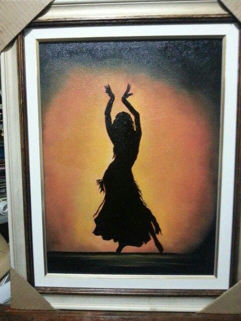 Dançarina cigana! 30x40  Disponível