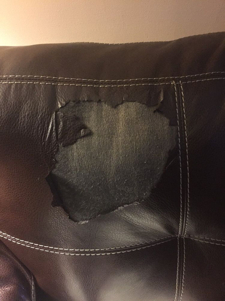 Leather sofa peeling Leather couch fix, Leather couch