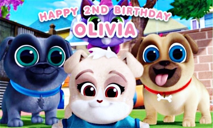 Puppy Dog Pals Backdrop Party In A Box Kids Birthday Party Planning Kids Party Themes
