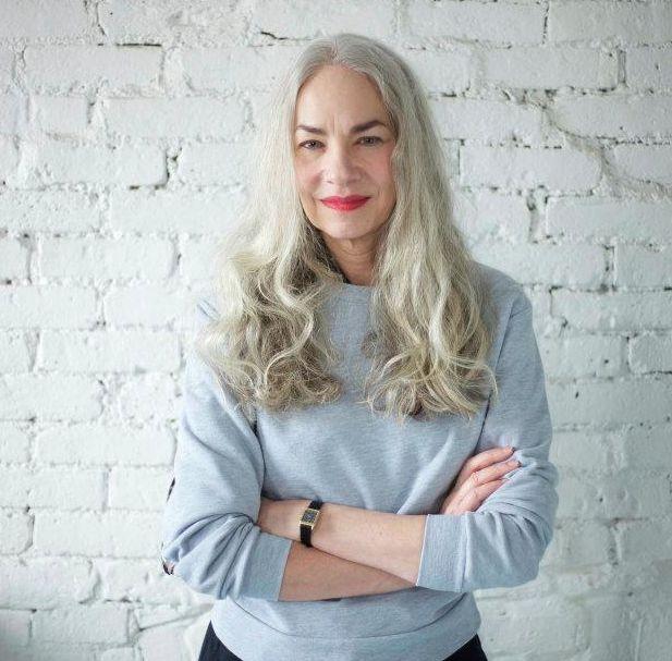 models lingerie Gray hair