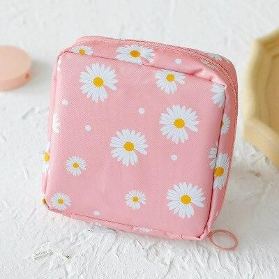 Small Cosmetic Bag Girl Lipstick Bag Women Make Up Organizer Bag Beautician Makeup Pouch Sanitary Pads Bags Toiletry Beauty Case - 24