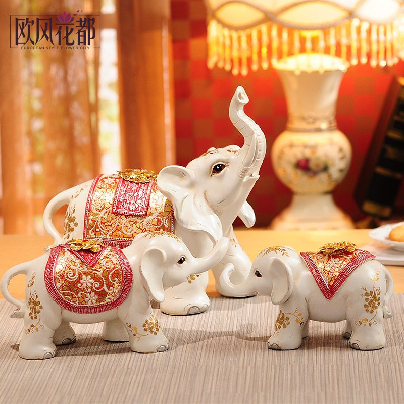 Wedding gifts wedding gifts bestie practical new living room decoration decoration Home Furnishing engagement elephant