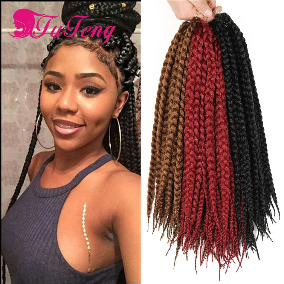 hair styles black hair best box braids crochet braids hair extensions synthetic 6123