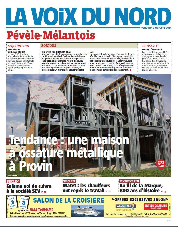 La presse en parle maison container Pinterest Construction