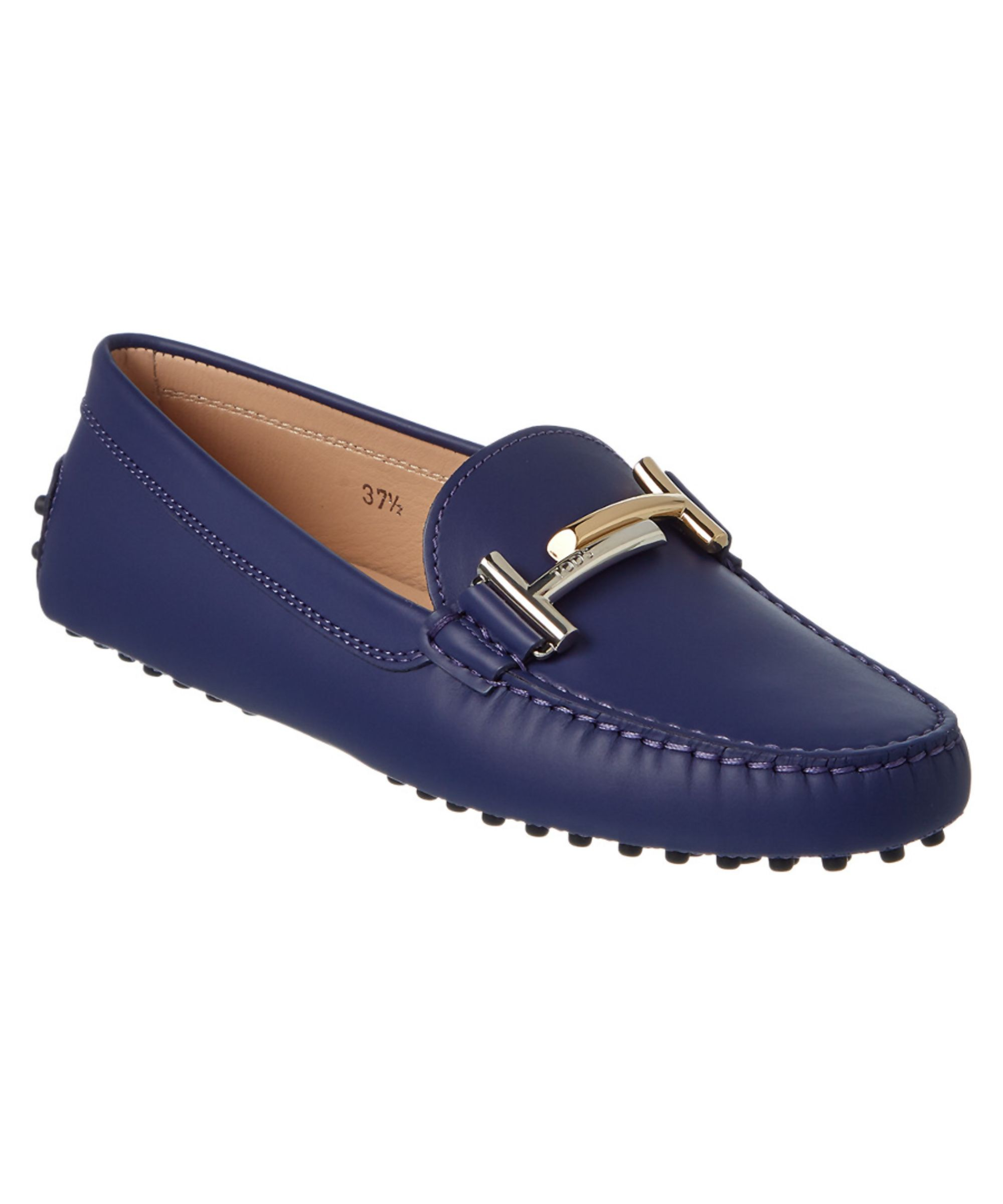 Double T Gommino loafers - Blue Tod's wdVSh5d250