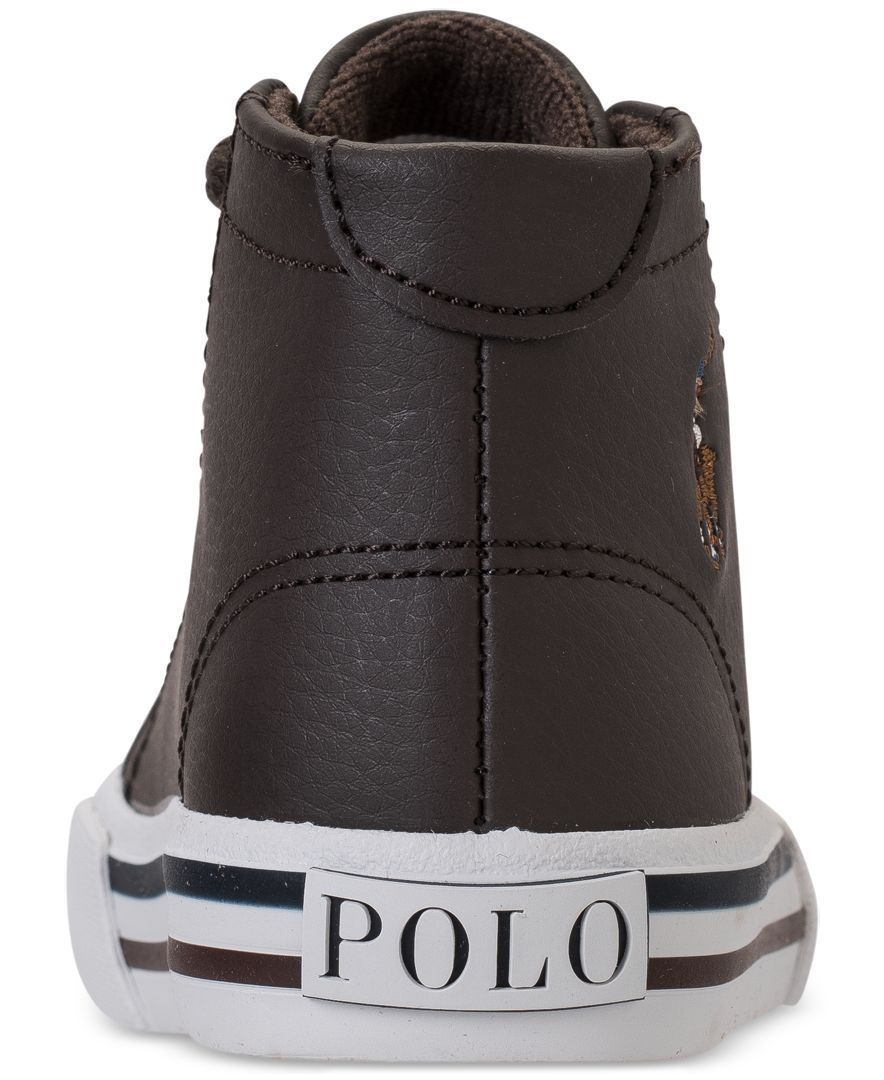 Polo Ralph Lauren Toddler Boys' Slater Mid Casual Sneakers from Finish Line  - Finish Line Athletic Shoes - Kids & Baby - Macy's