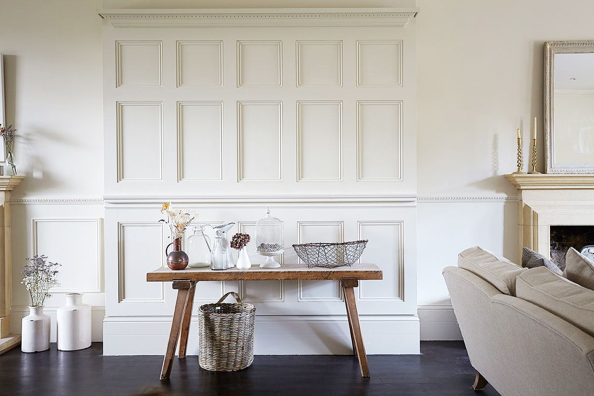 Tour a London Home Full of Light | Console styling, Moulding and ...