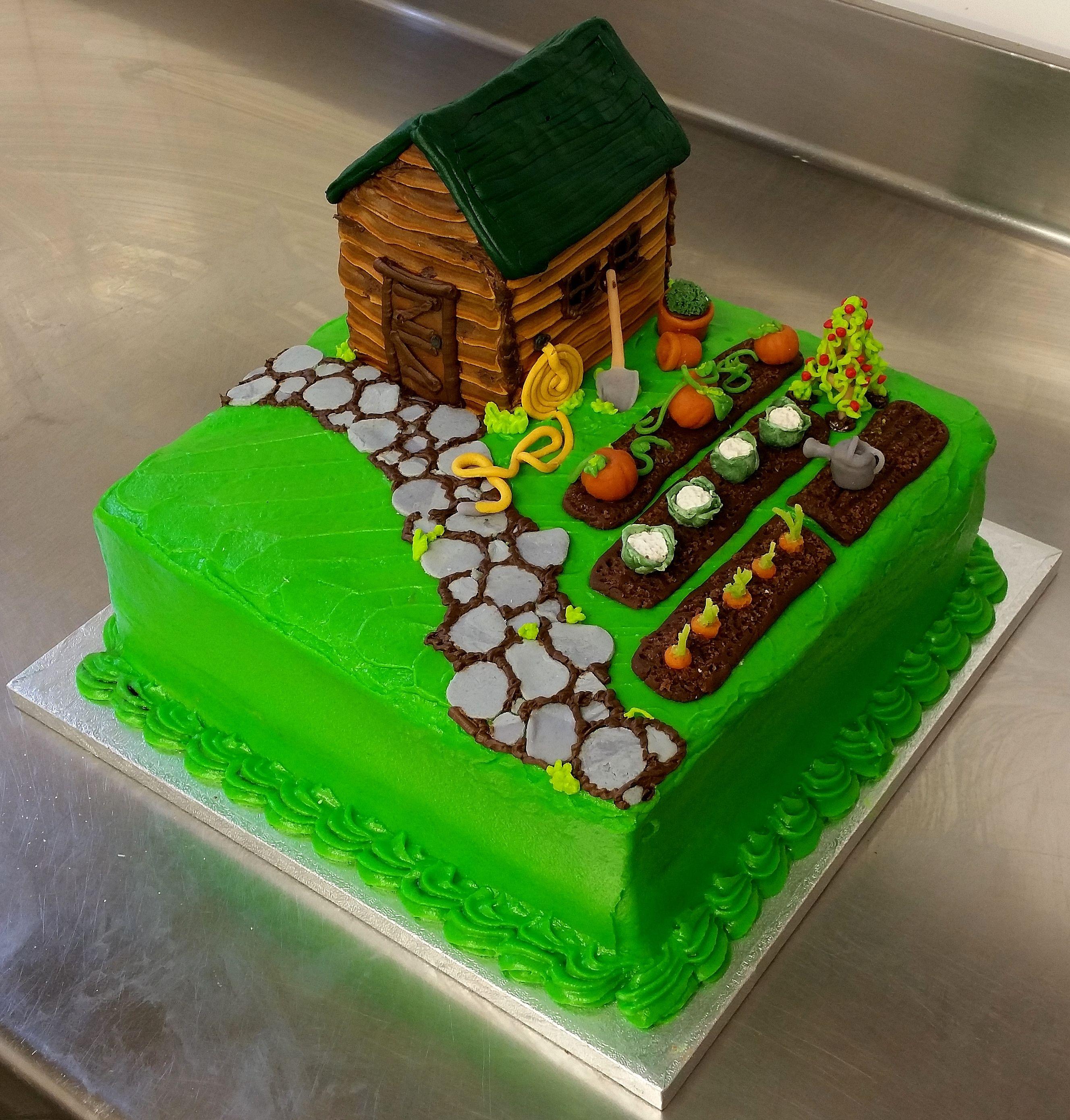 торт для садовода фото реальной