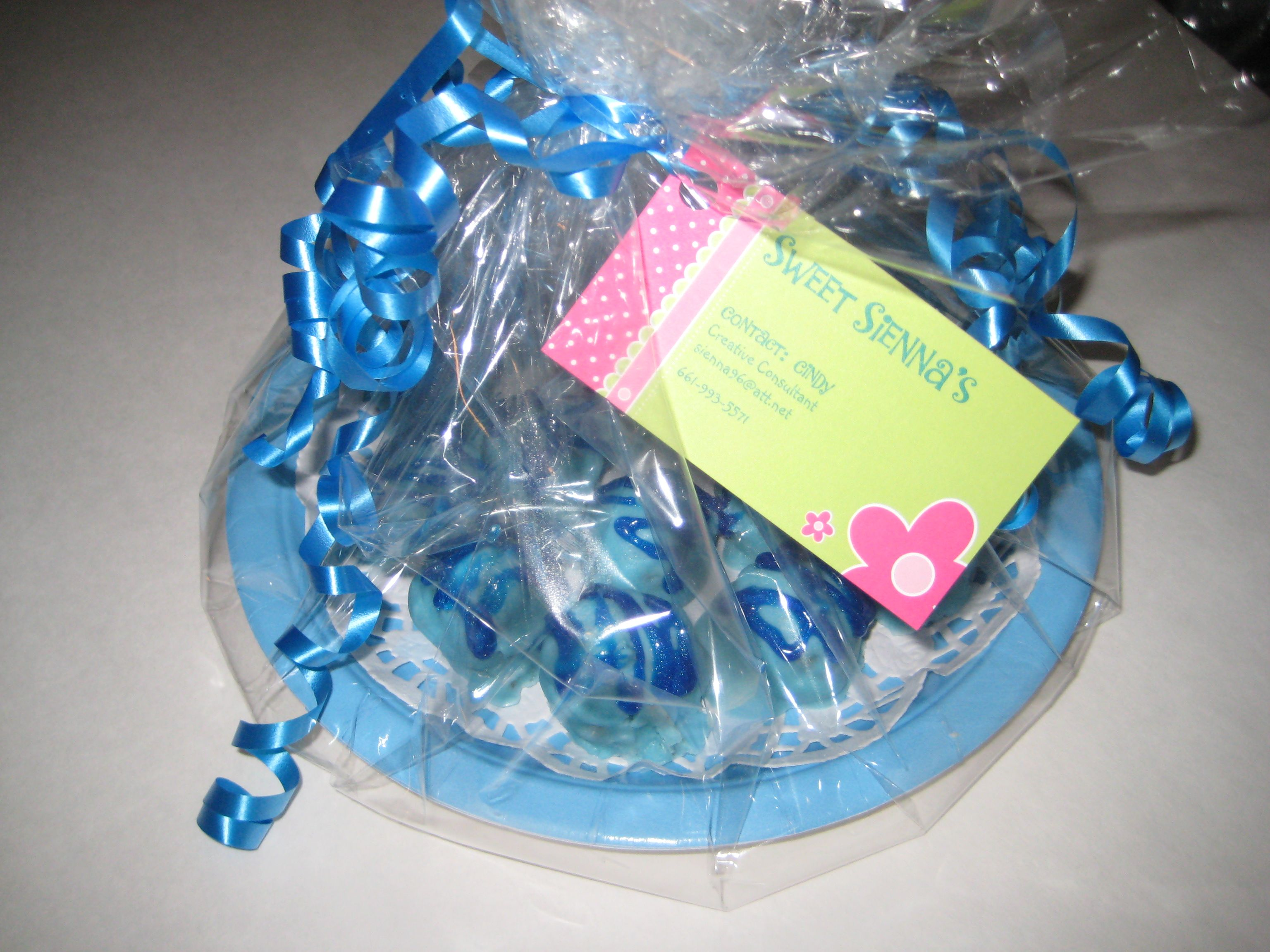 Marvelous Minty Morsels for a friend and her baby.