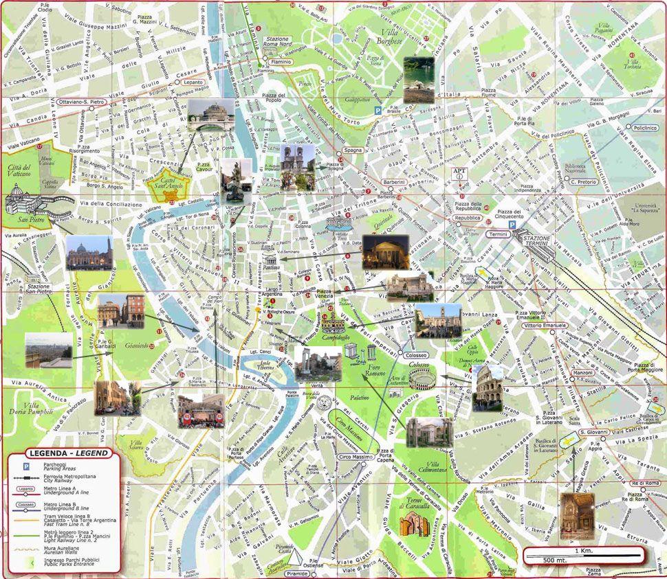 pianta di roma | Italia | Pinterest | Rome, Italy and Rome italy
