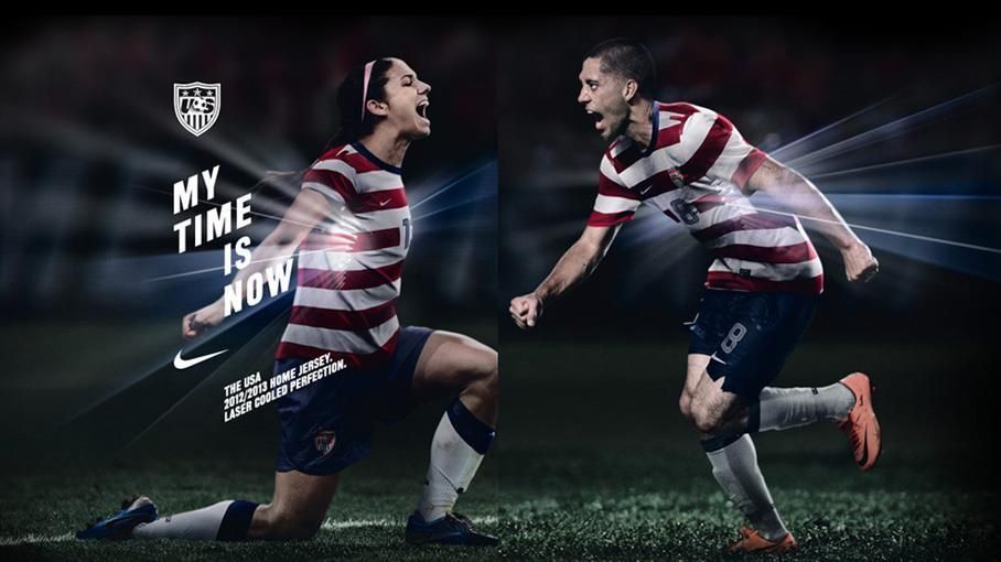 USMNT and USWNT will wear matching jerseys from here on
