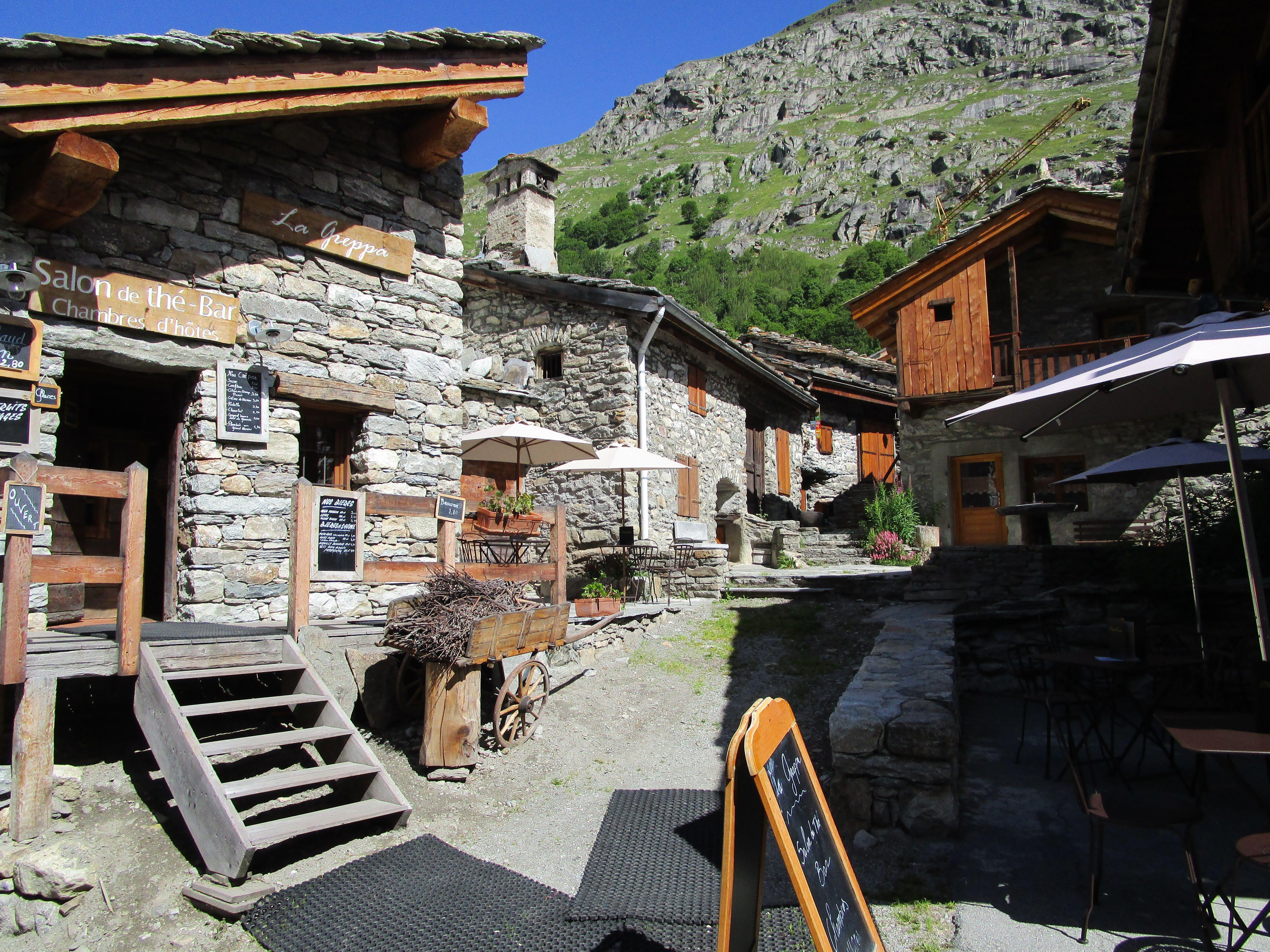 Le #village de #Bonneval sur #Arc en #Maurienne. Classé #PlusBeauxVillagesdeFrance