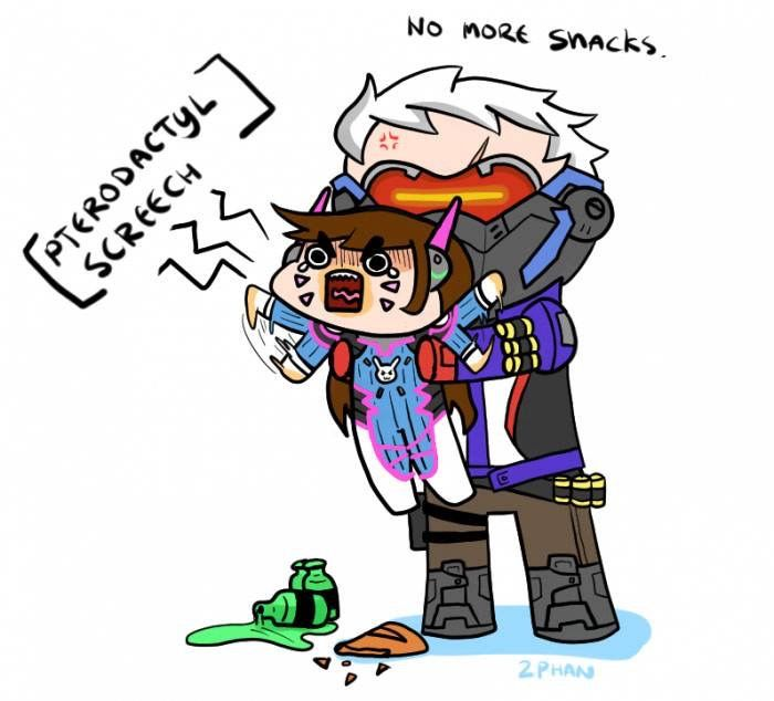 Overwatch Dva And Soldier 76 Overwatch Memes Overwatch Funny