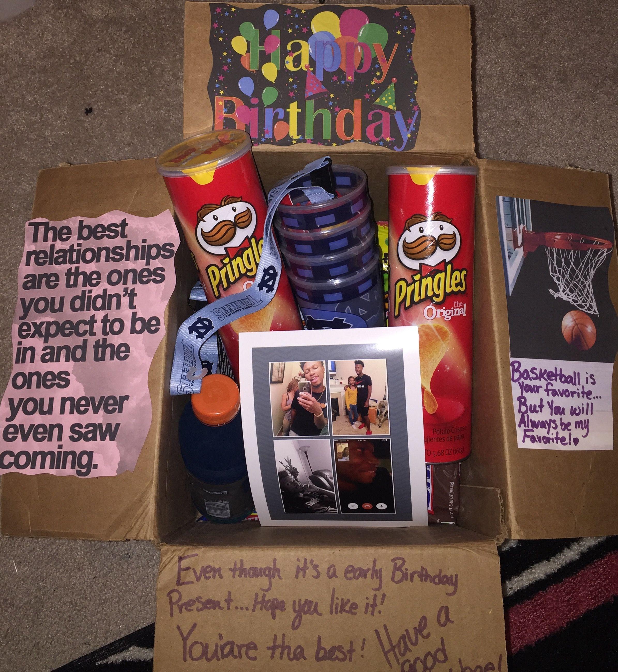 #BirthdaycareboxforBoyfriend Boyfriends Birthday Box