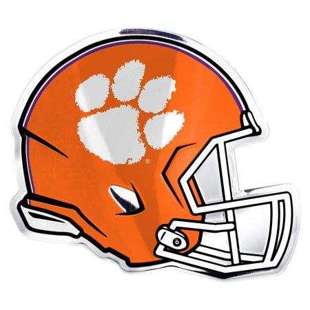 Ncaa Clemson Helmet Emblem Orange Helmet Clemson Tigers Football Helmets