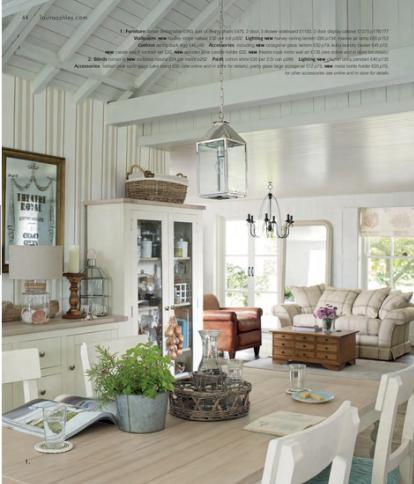 Desde my ventana laura ashley s s 2014 deco ideas salones hogar y comedores - Muebles laura ashley ...