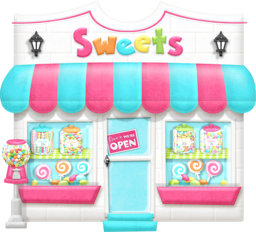 Image result for sweet shop clipart