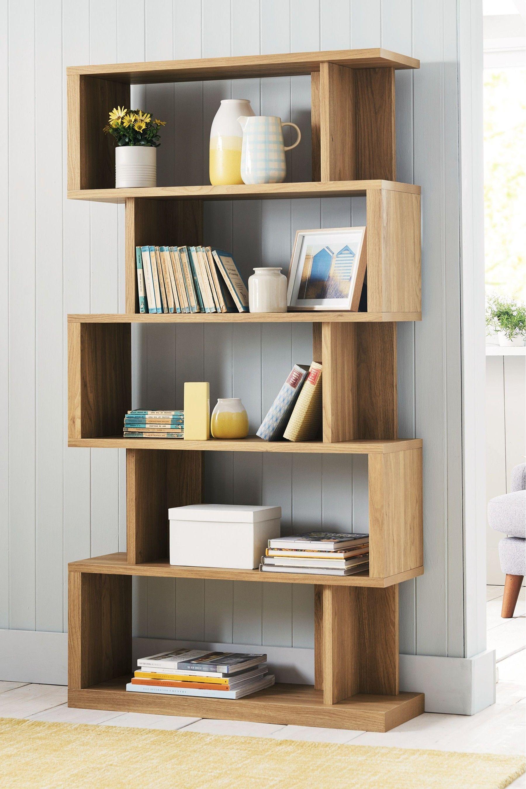Next Barlow Tall Shelf Natural Tall Shelves Shelves Bookcase Shelves