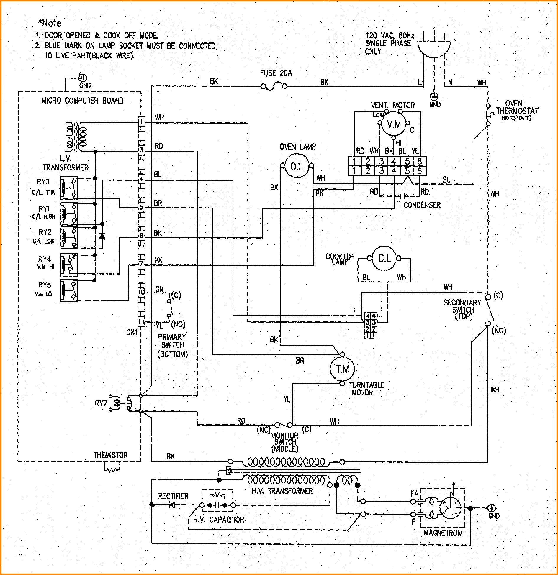 4 Wire Stove Plug Wiring Diagram