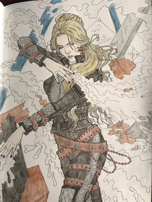 2005mockingjay Finished Evangeline Samos From The Victoria Aveyard Red Queen Red Queen Victoria Aveyard Dog Coloring Book