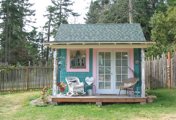 Amazing Clever Garden Sheds : Amazing Clever Garden Sheds