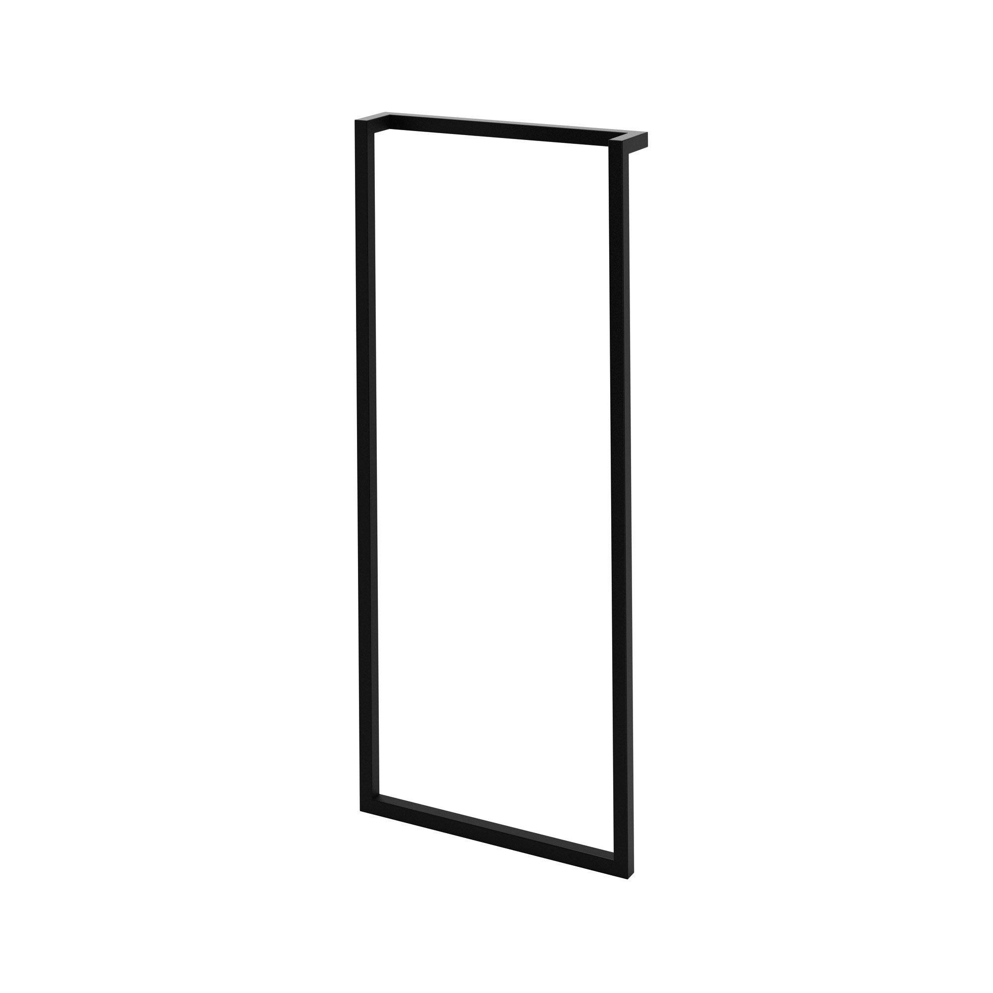 Cadre Porte Serviette L 32cm Noir Remix En 2020 Porte Serviette Serviettes Et Serviettes Noires