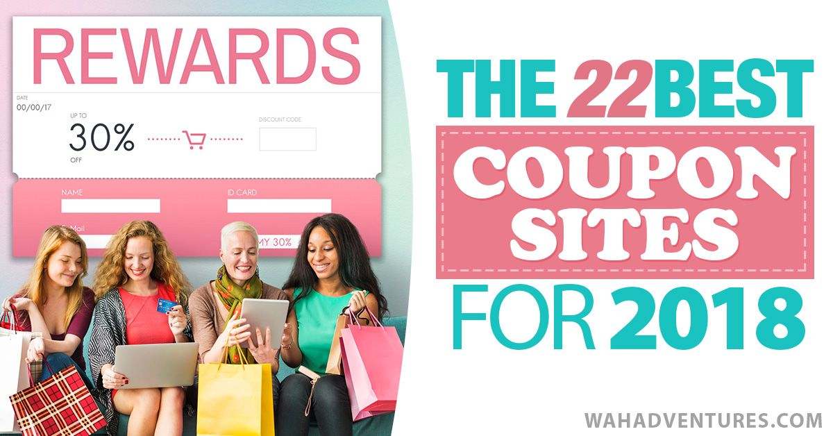 Best 22 Online Coupon Sites For 2018 Save Money Shopping Online Save Money Shopping Save Money Shopping Online Coupons