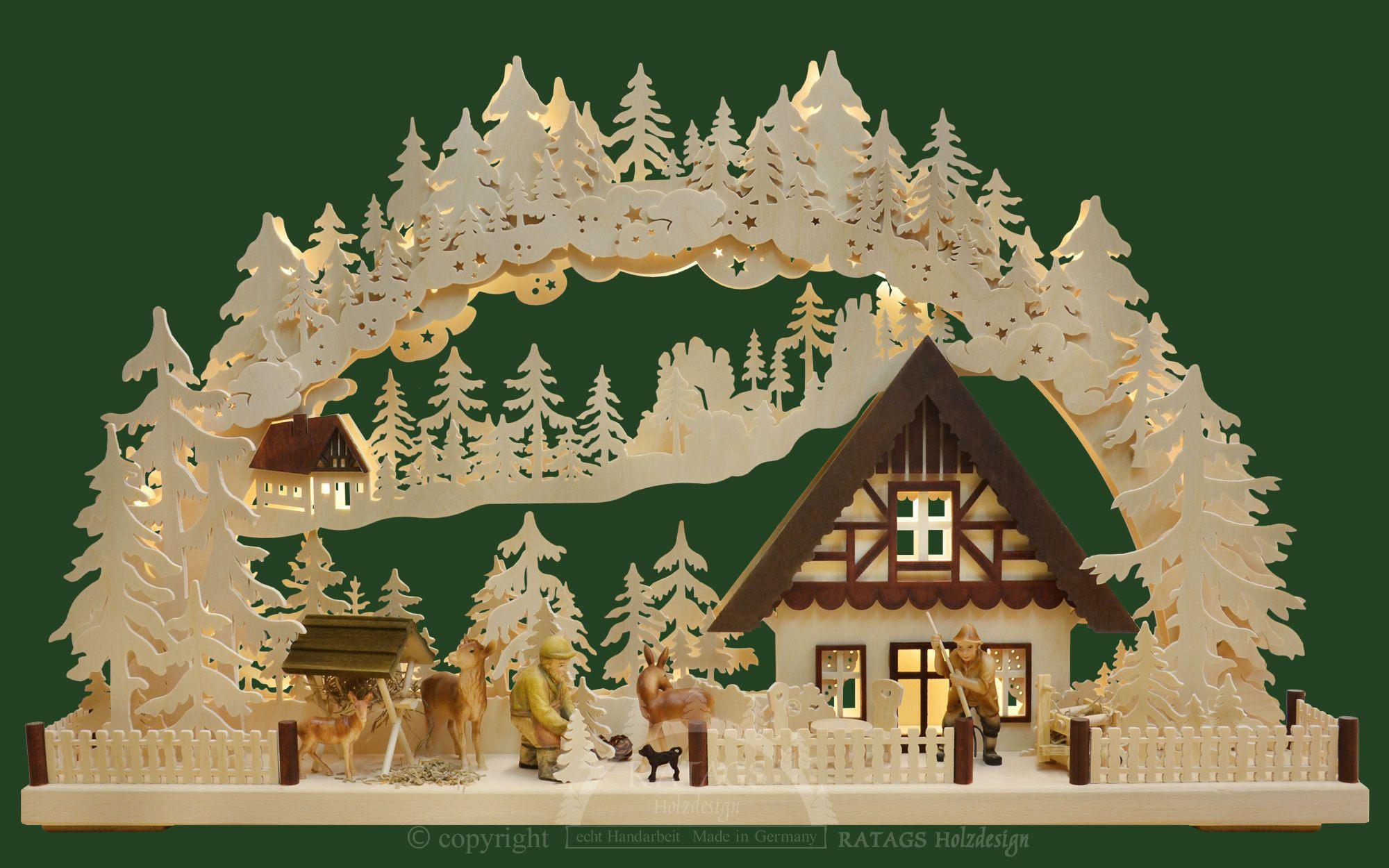 3d Schwibbogen Gr Wintereinbruch Schwibbogen Pinterest Kerst
