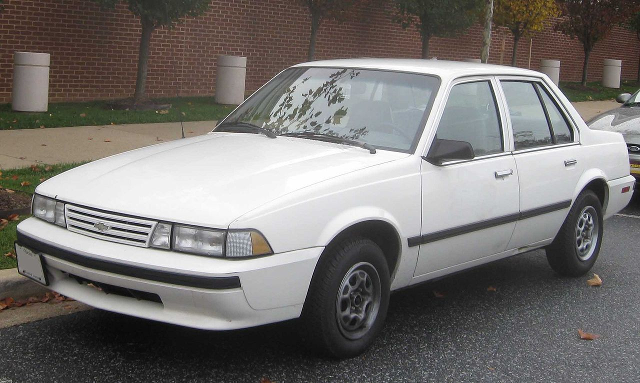 My 1st car was a 1988 Chevy Cavalier. Mine was silver, 4