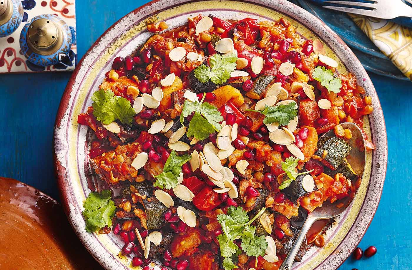 Apricot And Honey Vegetable Tagine