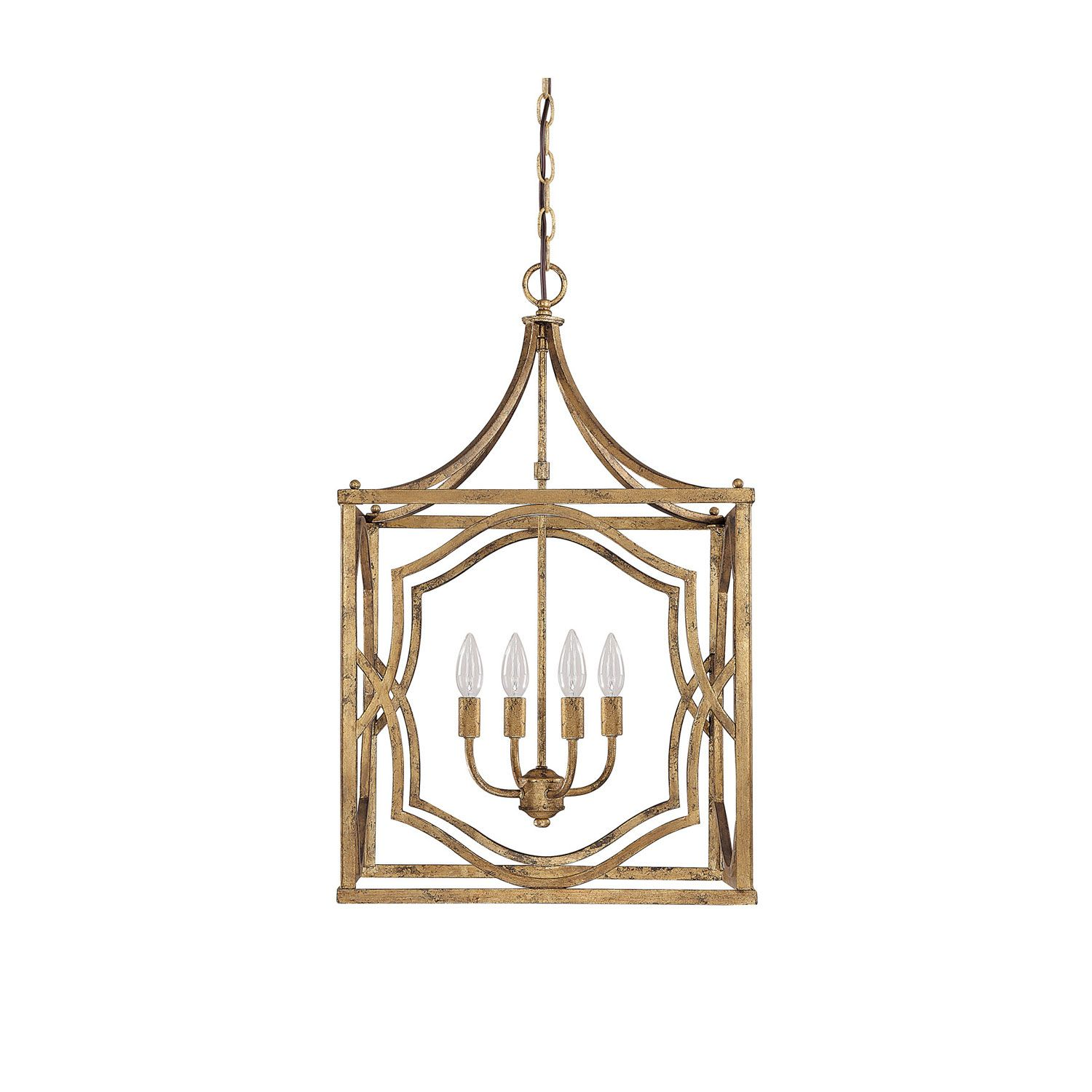 Antique Gold Pendant Light