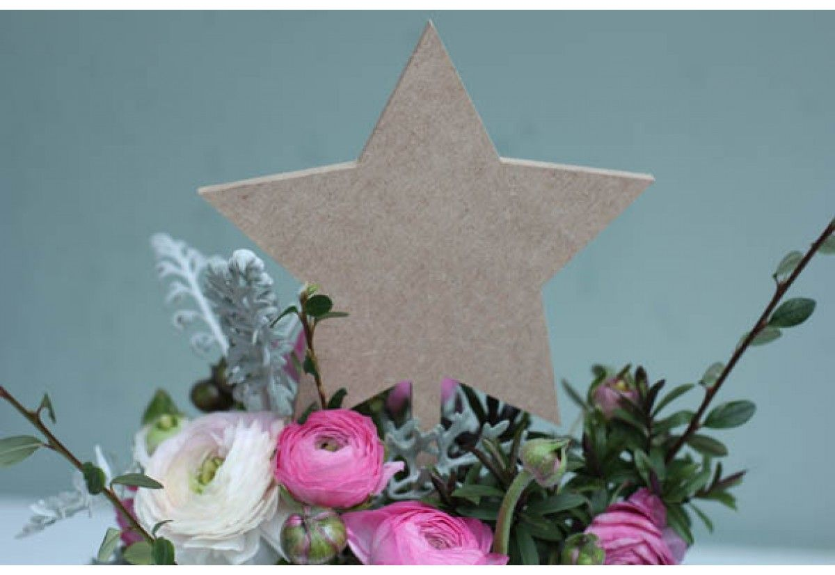 These Table Number Stars Are Brilliant And The Perfect Table