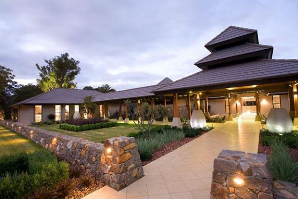 Great Exotic Modern House Resort By Dane Design Australia