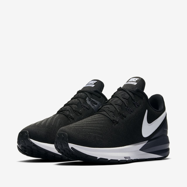 Nike Air Zoom Structure 22 Running shoes for men, Black