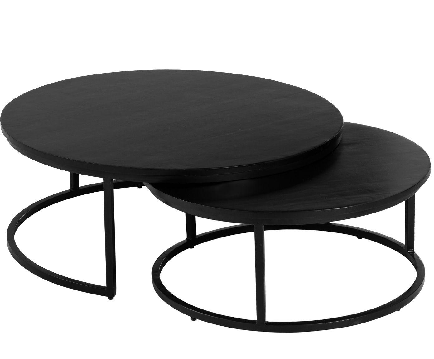 Entdecken Sie Couchtisch Set Andrew 2 Tlg In Schwarz Jetzt Bei Westwingnow Lassen Sie Sich Von Weiteren Tisch Eisen Gartenmobel Couchtisch Set Couchtisch