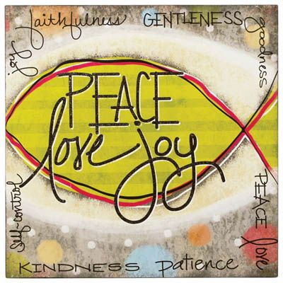 Peace Love Joy Wall Art | Art | Pinterest | Peace, Walls and ...