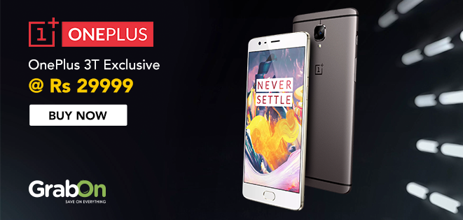Get the #OnePlus3T & enjoy direct access to the Rs 1 Crore lucky