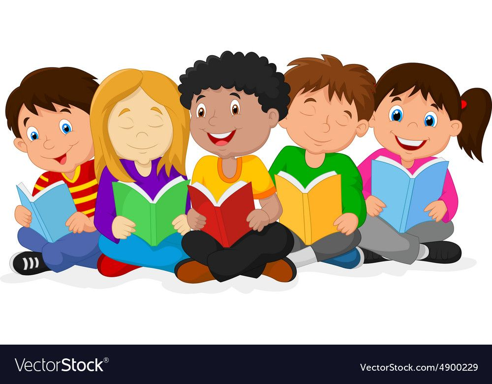 Cartoon Child Reading 9 - 1000 X 780 | Preschool Welcome ...