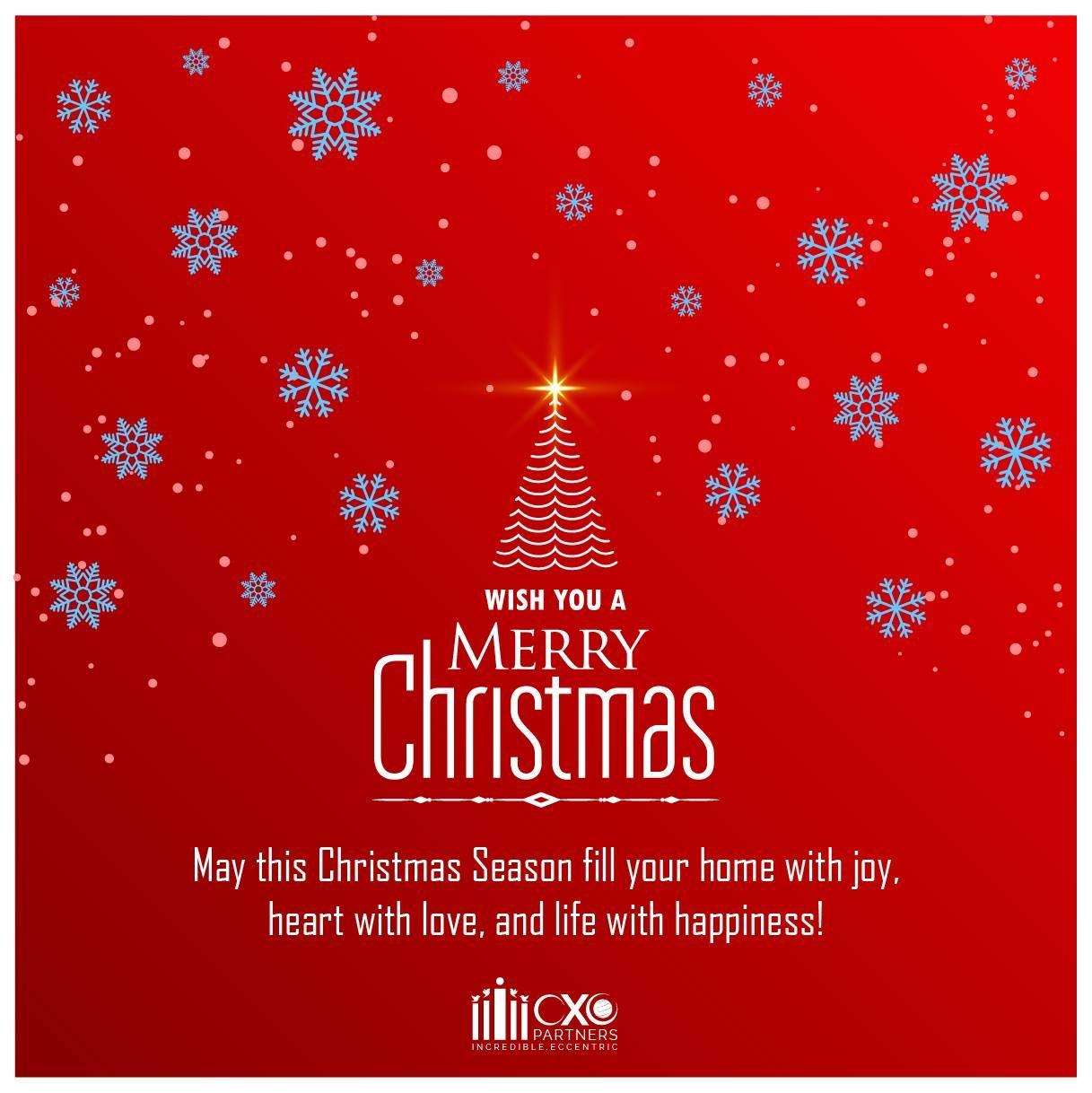 CXO Partners wishes you and your loved ones a Merry and