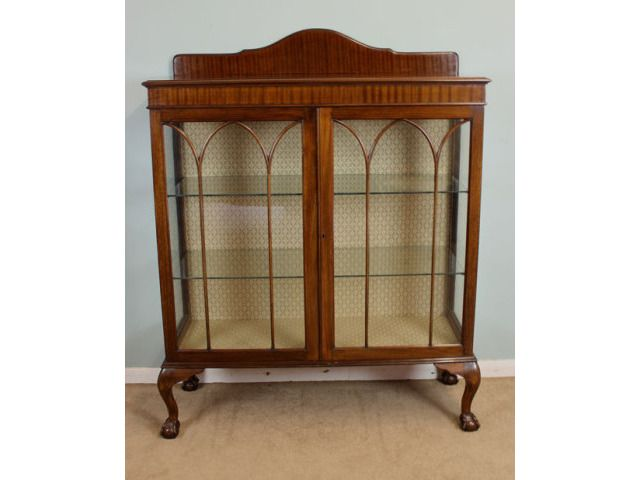 Mahogany Antique Glass Display Cabinet,Edwardian Display Cabinets - Mahogany Antique Glass Display Cabinet,Edwardian Display Cabinets