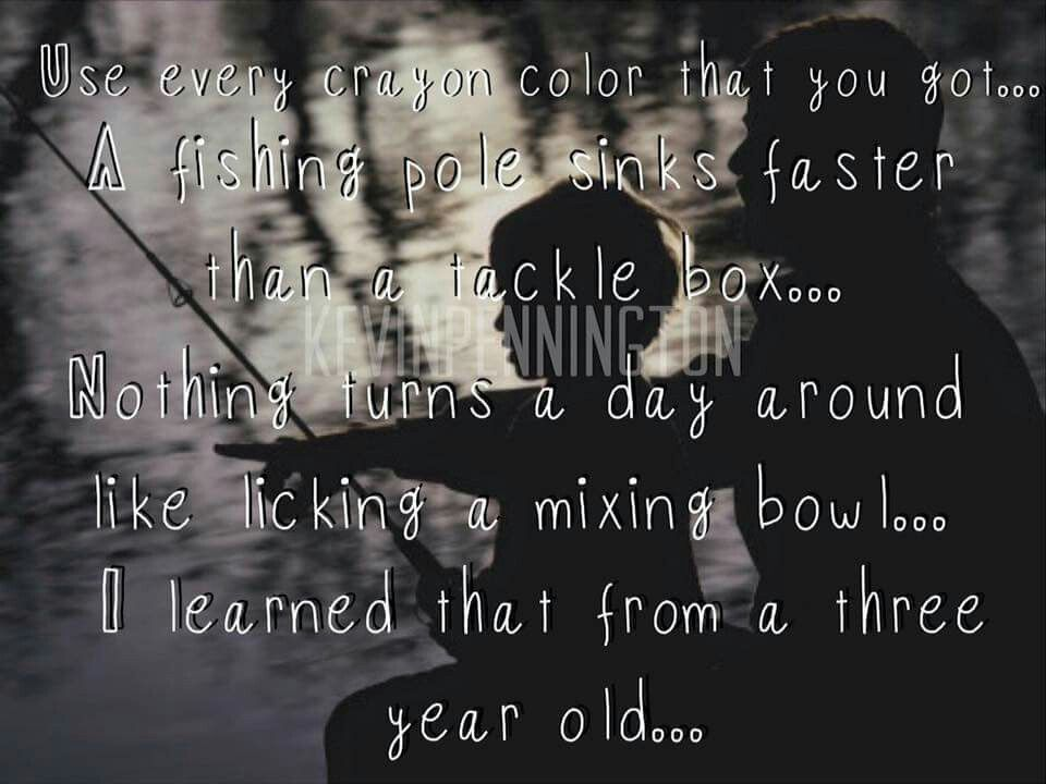 Eric Church 3 Year Olds Country Music Lyrics Country Lyrics Music Heals
