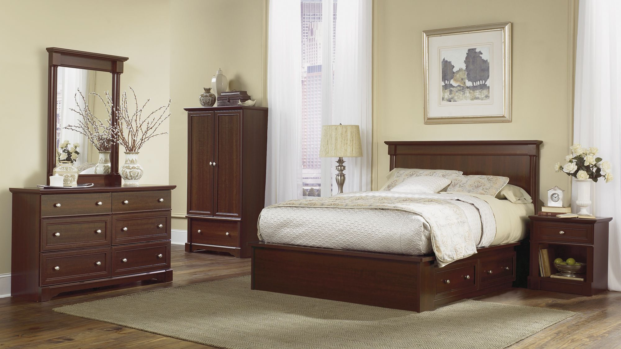 Queen Platform Bed Marjen Of Chicago Chicago Discount - Marjen furniture
