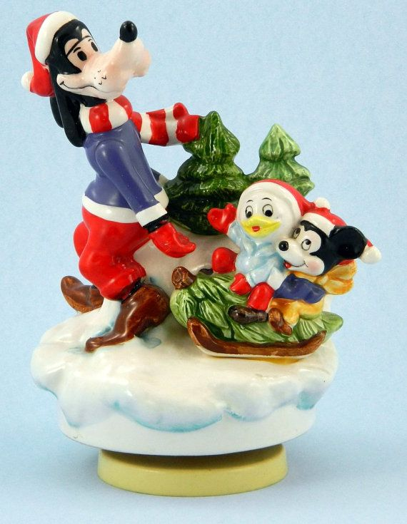 Disney Christmas Music Box 1980 Schmid by QueeniesCollectibles, $21.99