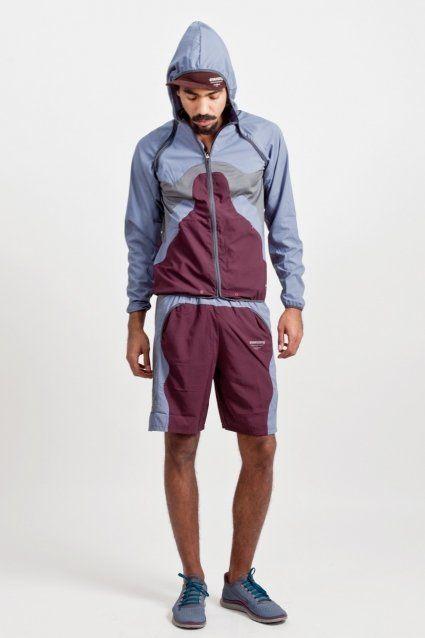 Nike x Undercover - AS UC Convertible Jacket Blue Dusk / Deep Burgundy - TRÈS BIEN