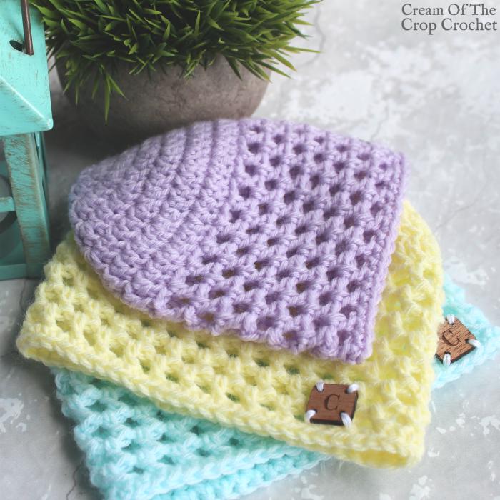 Mesh Newborn Hat Crochet Pattern   Crafts   Pinterest