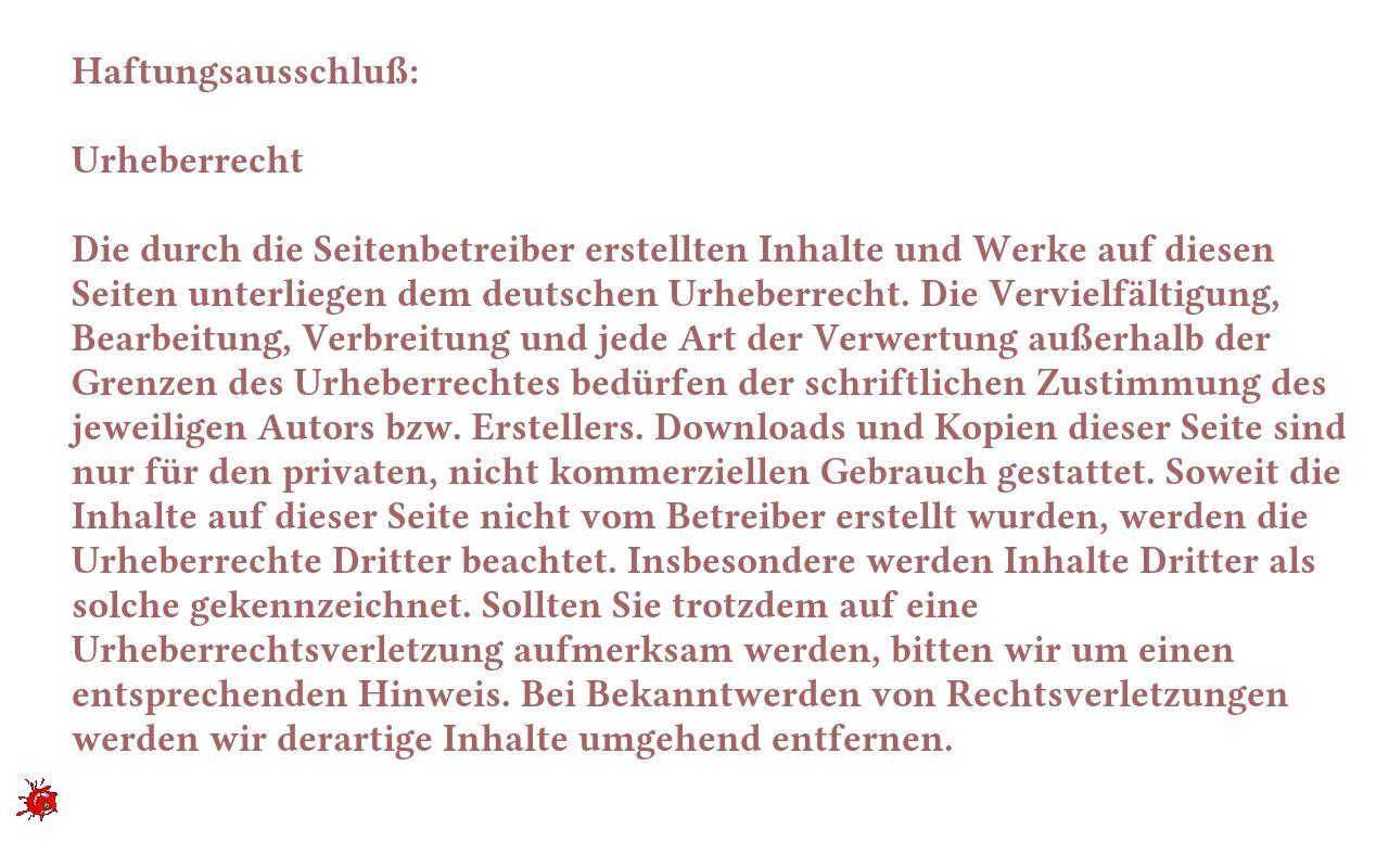 Quellen: http://www.e-recht24.de/muster-disclaimer.htm  http://www.e-recht24.de/artikel/datenschutz/6590-facebook-like-button-datenschutz-disclaimer.html