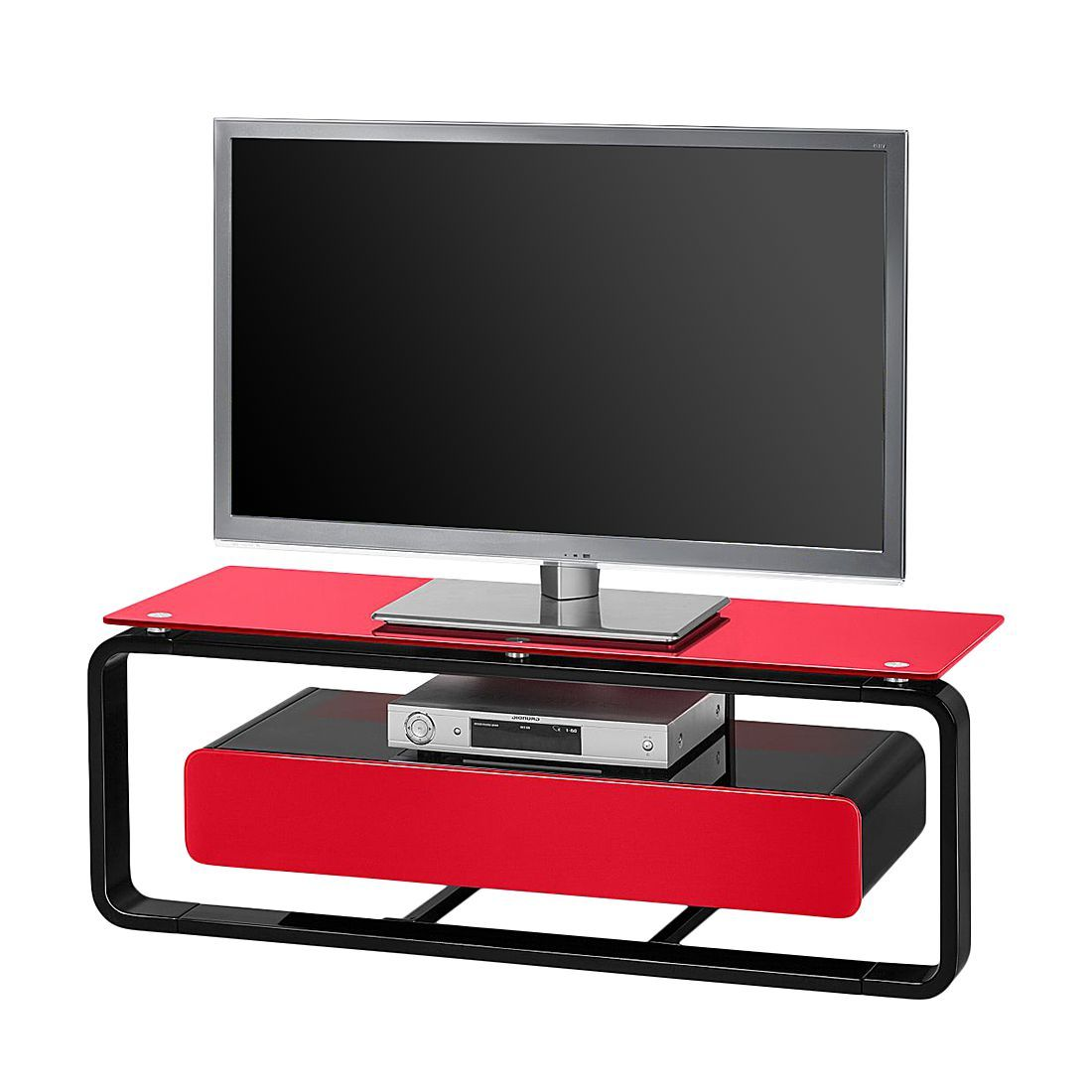 tv mbel glas enorm tv rack glas edelstahl hifi moebel audio regal soundglas schroers with tv. Black Bedroom Furniture Sets. Home Design Ideas