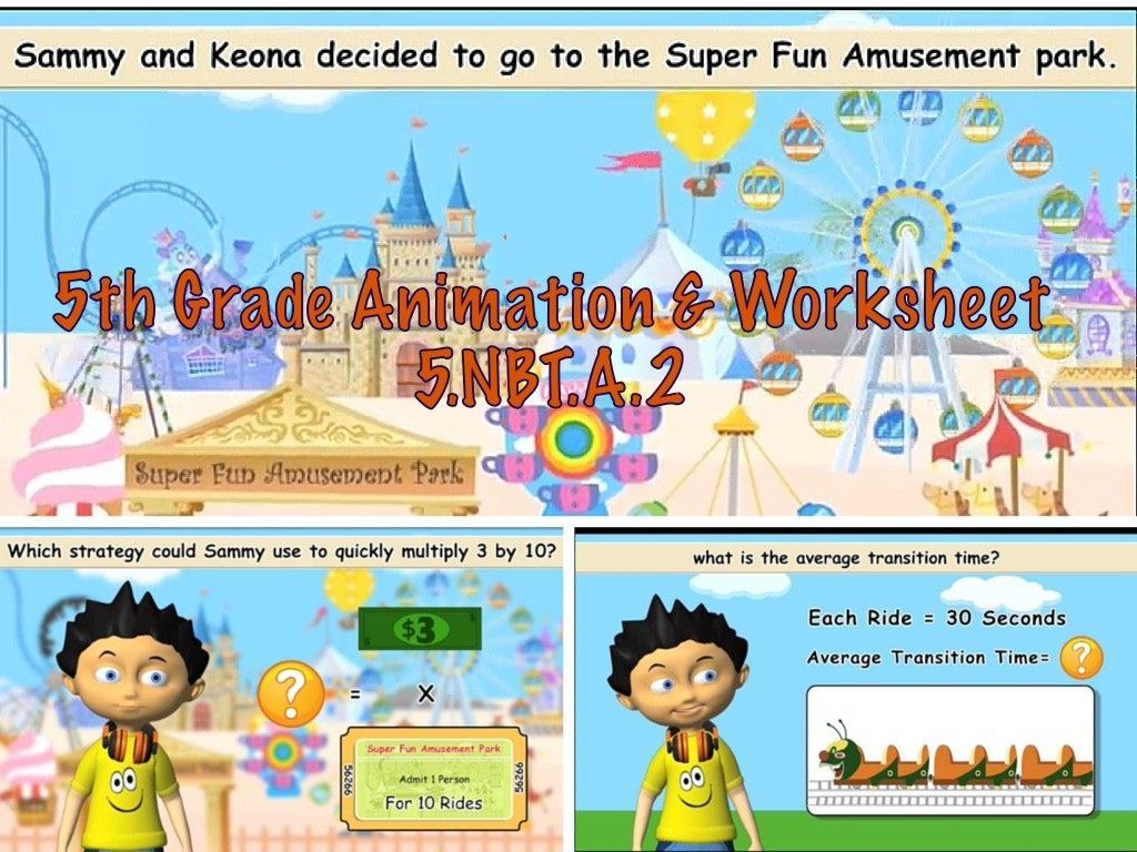 Common Core Math Video Activities Multiplication And