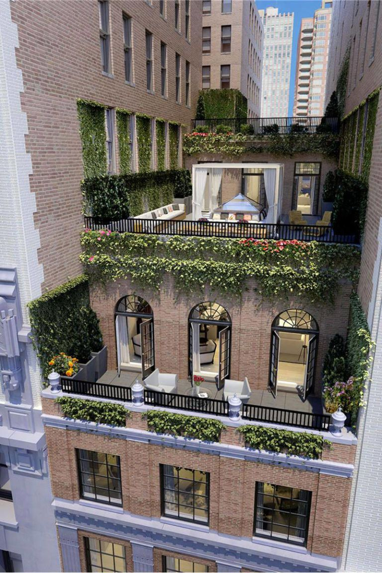 13 Stunning Apartments In New York: Jennifer Lopez's Stunning New York City Penthouse